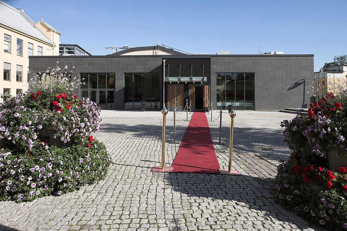 Flygeln exteriör - stor eventlokal Norrköping
