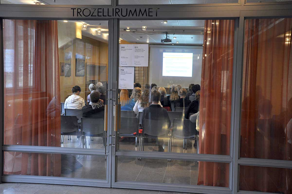 Trozellirummet konferenslokal Norrköping