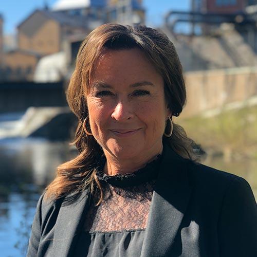 Annika Nyström, försäljningschef på Louis de Geer Konsert & Kongress