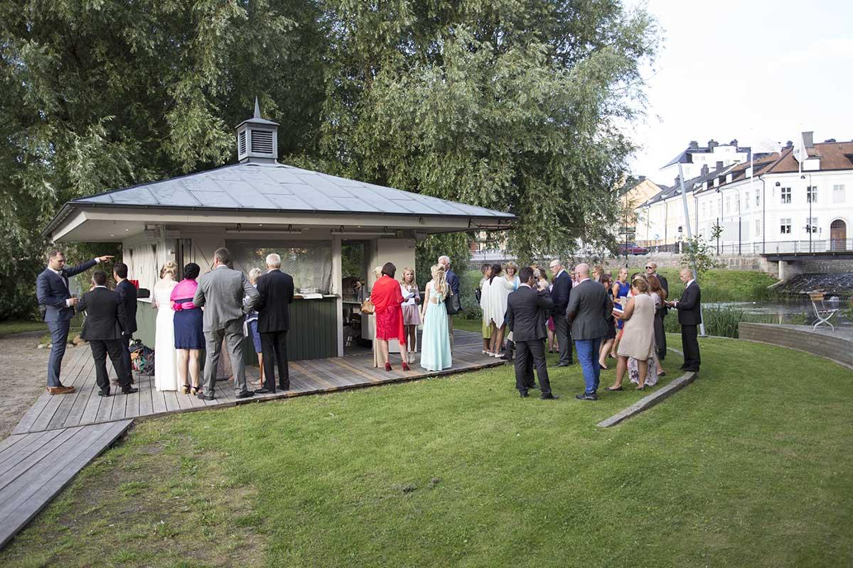 Mingel Kråkholmen, festlokal Norrköping